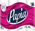 Papia Toilet Paper 16 Rolls 3 ply