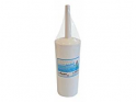 Enclosed Toilet Brush and Holder Set White